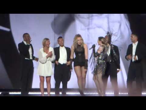 Madonna -Unapologetic Bitch -San Juan PR Jan 28-Menage a trois on stage! =p