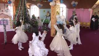 Танец снежинки новый год детский сад Нури Ирфон