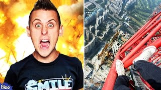 5 CRAZIEST YouTube Videos Ever (MrBeast Counting to 100,000, RomanAtwood Blowing Up Prank&More)