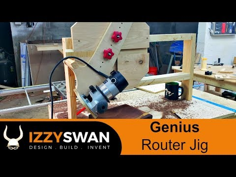 Genius Router Jig  | How To Video