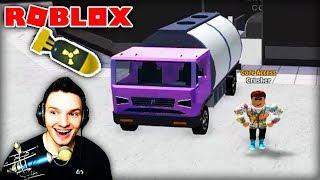A TRUCK IN A WASHING MACHINE PLUG? (Roblox)