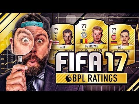 FIFA 17 ULTIMATE TEAM BPL PLAYER RATINGS + FANTASY FOOTBALL vs ME!