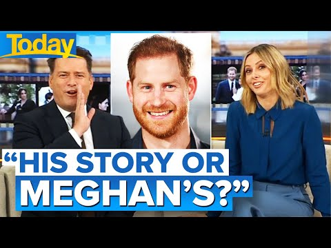 Aussie host's swipe at Prince Harry and his new book | Today Show Australia