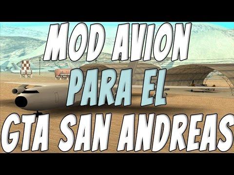 Como Poner Avion De Carga En El Gta San Andreas Pc