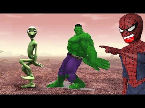 Hulk - Dame tu Cosita (Spiderman React)
