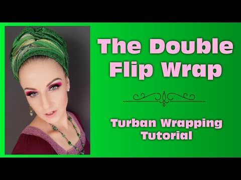 the-double-flip-wrap-|-turban-wrapping-tutorial-|-wrapunzel