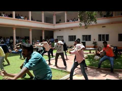 Kalakruthi'17, Amrita School of Business,  ASB, Coimbatore FlashMob, best dance 2015-17 batch