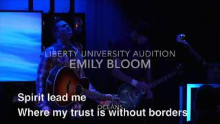Emily Bloom - Audition