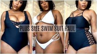 ROSEGAL CHEAP PLUS SIZE SWIMSUIT TRY-ON HAUL