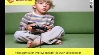 Video games can improve skills for kids with special needs |  By : CNN