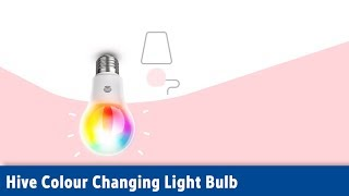 Hive Colour Changing Light Bulb | Screwfix