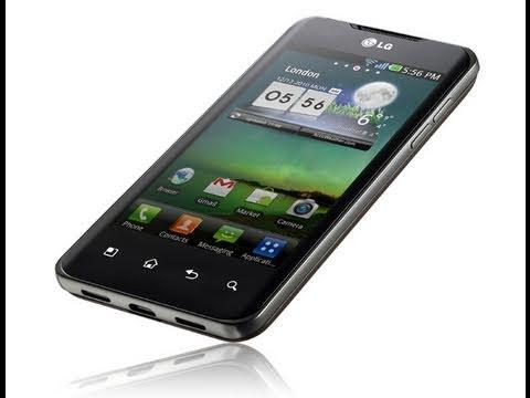 LG P990 Optimus 2X Unboxing