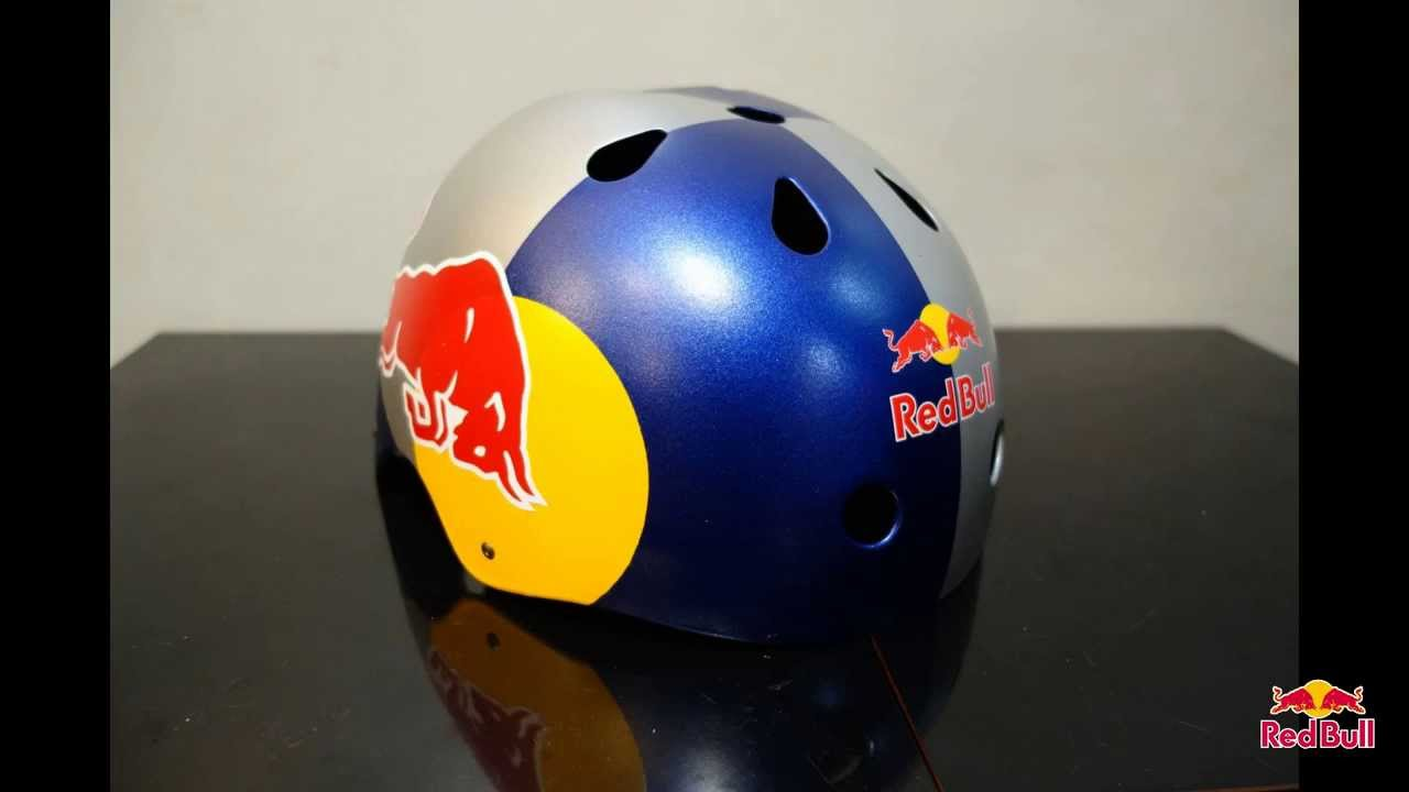 my red bull helmet youtube. Black Bedroom Furniture Sets. Home Design Ideas