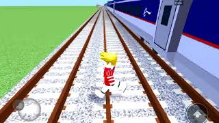 Its Eurostar track crossing time! ROBLOX MTG 155mph