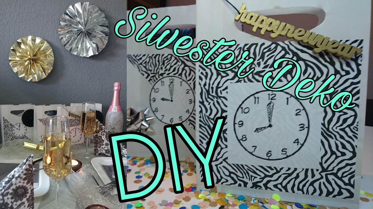last minute silvester deko i tipps diy youtube. Black Bedroom Furniture Sets. Home Design Ideas