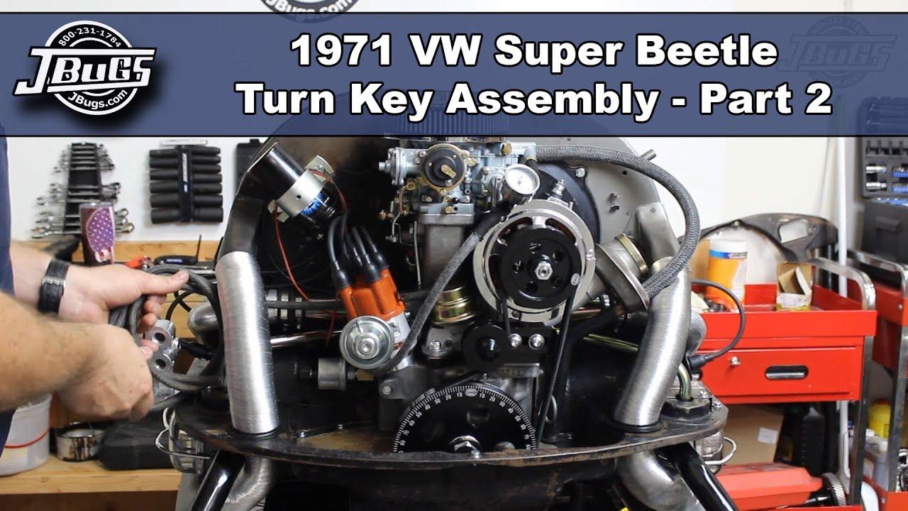 Jbugs - 1971 Vw Super Beetle - Engine Build Series