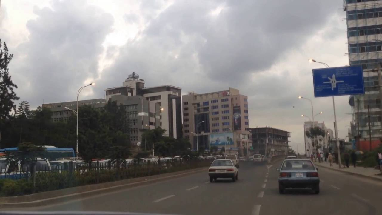 Addis Ababa Meskel Square Ghion Hotel And Bole Areas Youtube