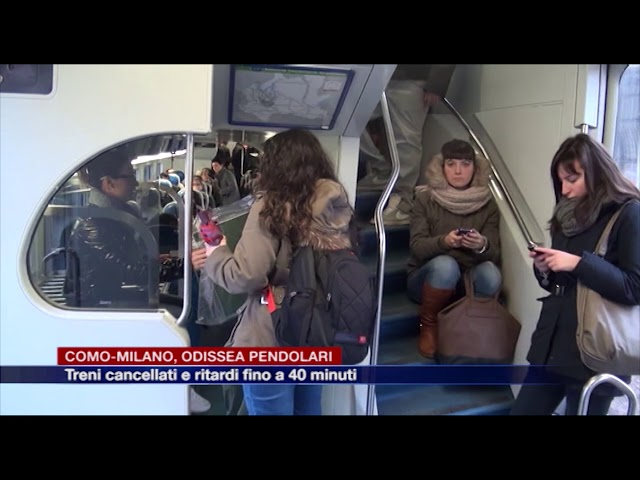 Etg - Chiasso-Como-Milano, odissea pendolari. Treni cancellati e ritardi fino a 40 minuti