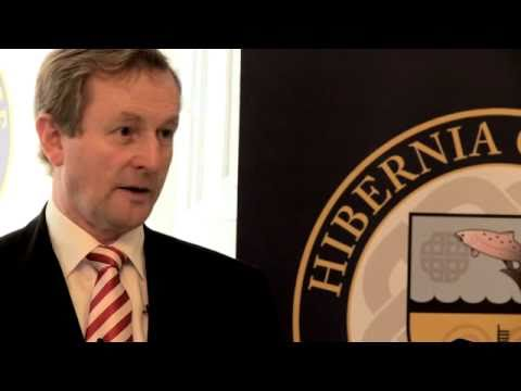 Irish Prime Minister, An Taoiseach Mr. Enda Kenny T.D, visits Hibernia College