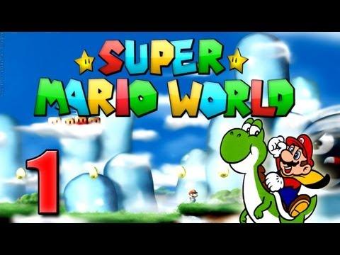 Super Mario Advance 2 - Super Mario Word Part 1: Willkommen auf Yoshis Island