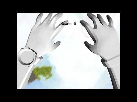 VR sky fall