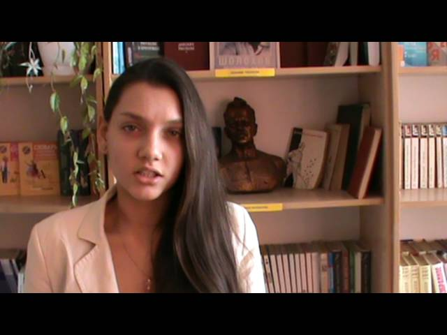Изображение предпросмотра прочтения – ВладаЕресенко читает произведение «Ангел бледный (Ангел бледный, синеглазый…)» В.Я.Брюсова