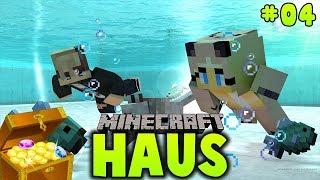 WIR TAUCHEN NACH EINEM VERSUNKENEN SCHATZ ✿ Minecraft HAUS #04
