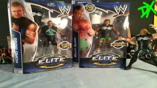 NEW AGE OUTLAWS ROAD DOGG AND BILLY GUNN WWE Elite Series 26 & 27 Figure Reviews