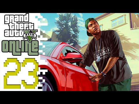 Let's Play GTA V Online PC (GTA 5) - EP23 - Heist Continued