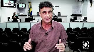 Vereador Abelardo  comenta demandas aprovadas na sessão de 27 de abril