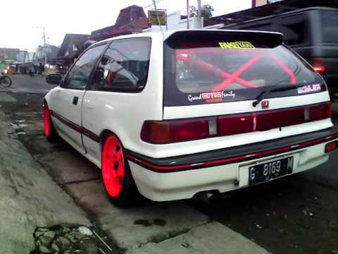 honda civic nouva drag  honda civic nouva modifikasi velg mesin civic nouva indonesia