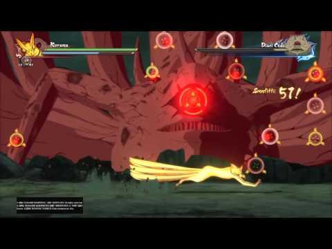 NARUTO SHIPPUDEN Ultimate Ninja STORM 4 - Kyuubi & Hachibi Vs Juubi Rank S