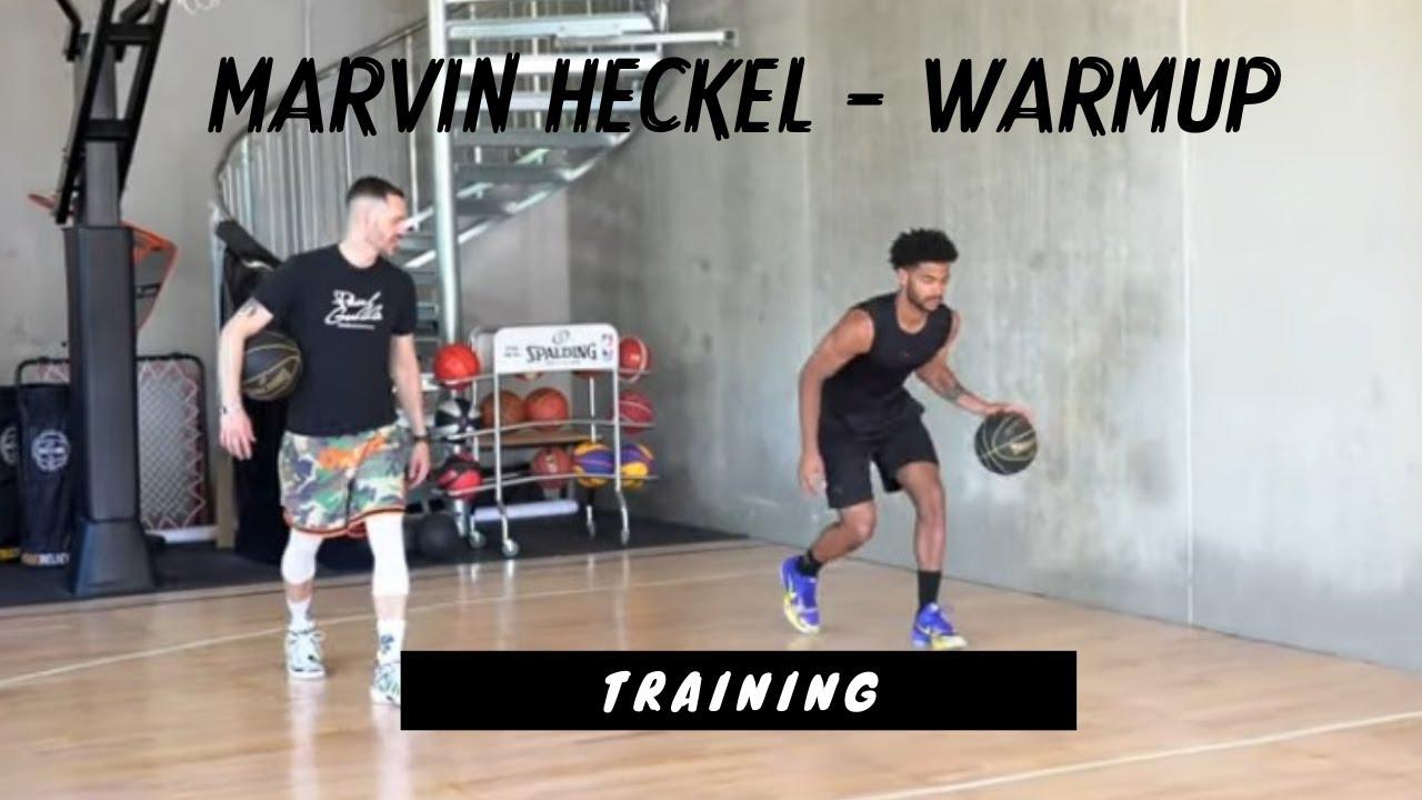 Ball Handling Warmup mit Marvin Heckel