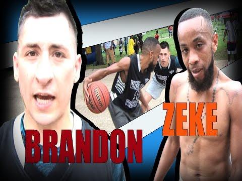 1v1 basketball: by V1F  --- Brandon vs Zeke --- Game 101