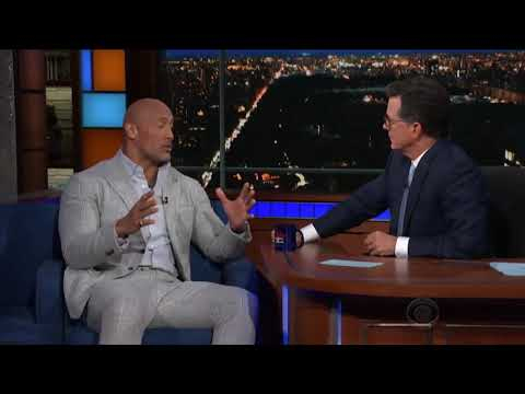 The Rock Sings Samoan Song Live On Television