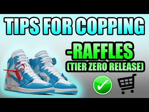 Tips For Copping The OFF WHITE UNC 1 *TIER ZERO RELEASE* | Where + How To Cop The OFF WHITE UNC 1