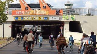 """Extinction Rebellion"": Proteste am Flughafen Tegel"