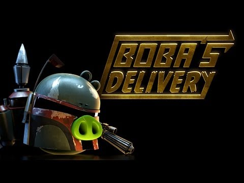 Angry Birds Star Wars: Bobas Delivery