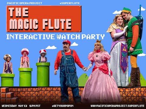 SuperFlute Interactive Watch Party Promo