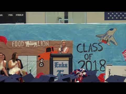 Enka High School Class Day 2018