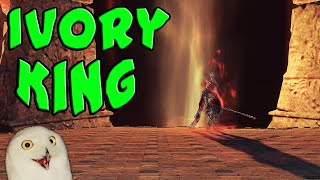 IVORY KING - Dark Souls 2 DLC#3 (Crown of the Old Ivory King) - Part 4 (Stream Highlights)