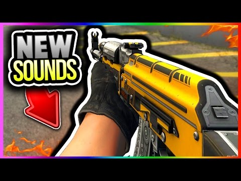 NEW CSGO UPDATE - NEW SOUNDS AK47 M4A4 M4A1-S Galil Famas + NEW AK47 SOUND GAMEPLAY! (CS GO Update)