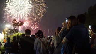 Thời khắc Giao thừa chào đón năm mới Canh Tý | VTC1
