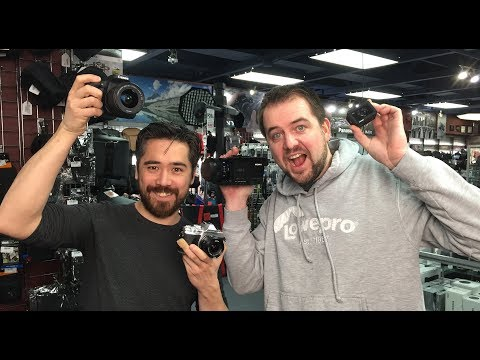 TCSTV Live: 10 Minute Reviews of the Olympus E-M10 III, Canon 77D & Sony RX0/AX700