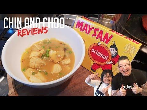 Chin And Choo Reviews Maysan Original Curry Paste