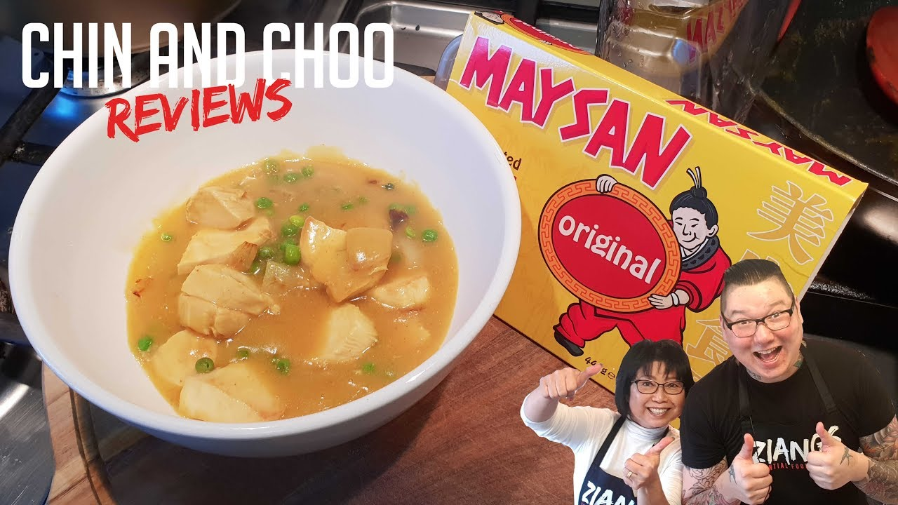 Chin And Choo Reviews Maysan Original Curry Paste