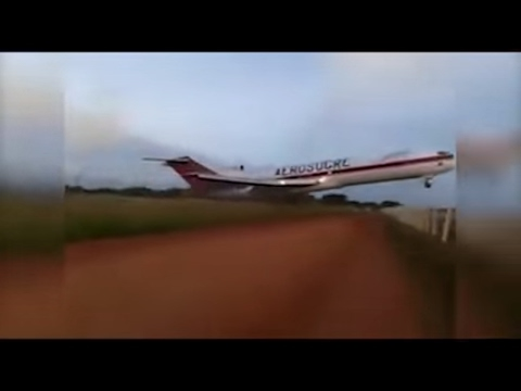 Plane crash || LIVE FOOTAGE || COLUMBIA PLANE CRASH 😮😮
