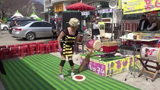 복분자품바 - 조마조마 가슴졸이는 묘기 공연 4K촬영원…