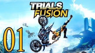 Let's Play Trials Fusion Gameplay German Deutsch Part 1 - PS4, Xbox One, PC