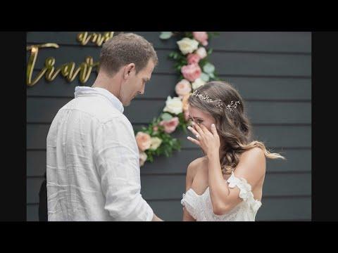 Exclusive Wedding Photos: Dr. Travis Is A 'Bachelor' No More